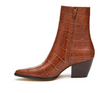Caty Boot- Brown Croc