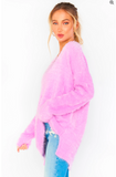 Show Me Your Mumu Cozy Forever Sweater- Pretty Pink