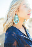 Carah Earrings in Turquoise