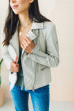 Mauritius Hera Perforated Leather Jacket