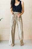 On The Hunt Striped Trousers