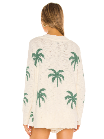 Gilligan Sweater- Palm Tree Knit
