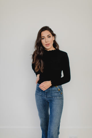 Becky Off The Shoulder Long Sleeve