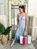 Tiare x Salt + Grace Mia Maxi Dress