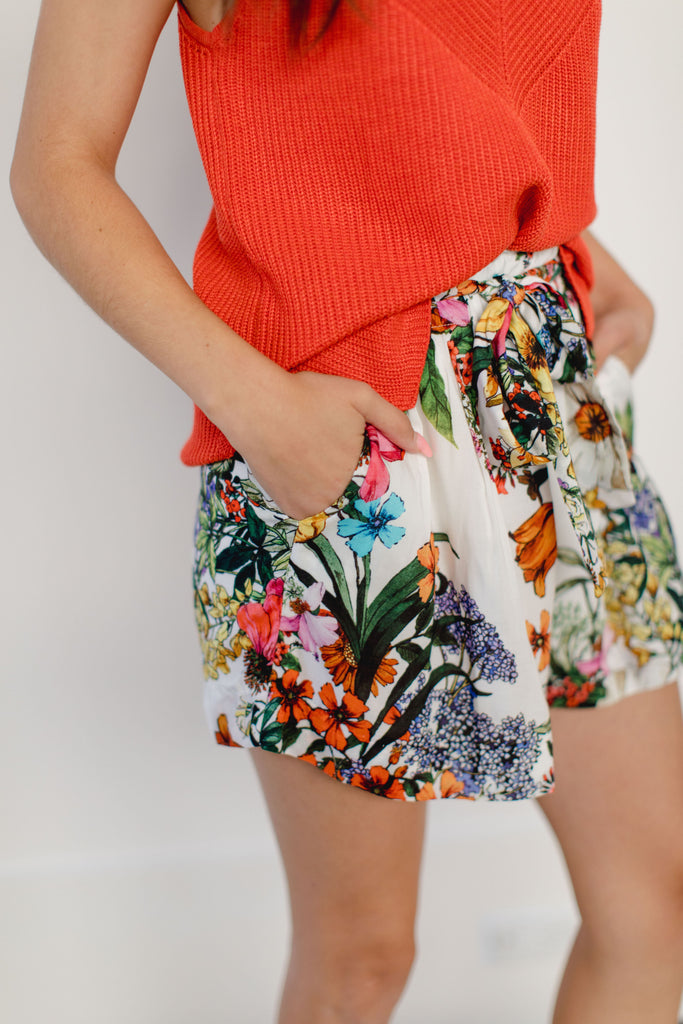 Layla High Waisted Shorts