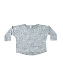 Paisley Long Sleeve Tee