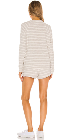 Sittin Around Set- Snuggle Stripe Knit