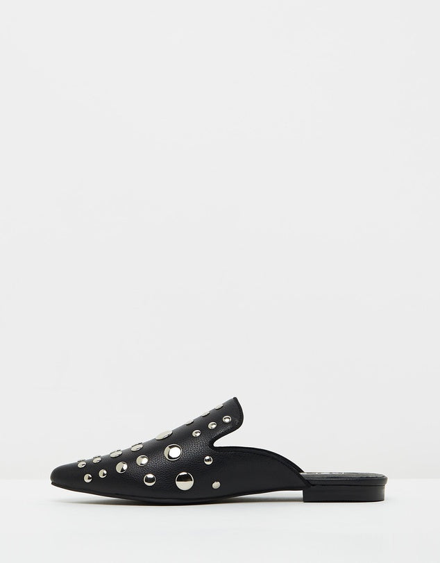 Willow Studded Point Loafers