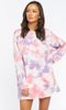 Show Me Your Mumu Sunday Sweatshirt Dress- Candy Tie Dye