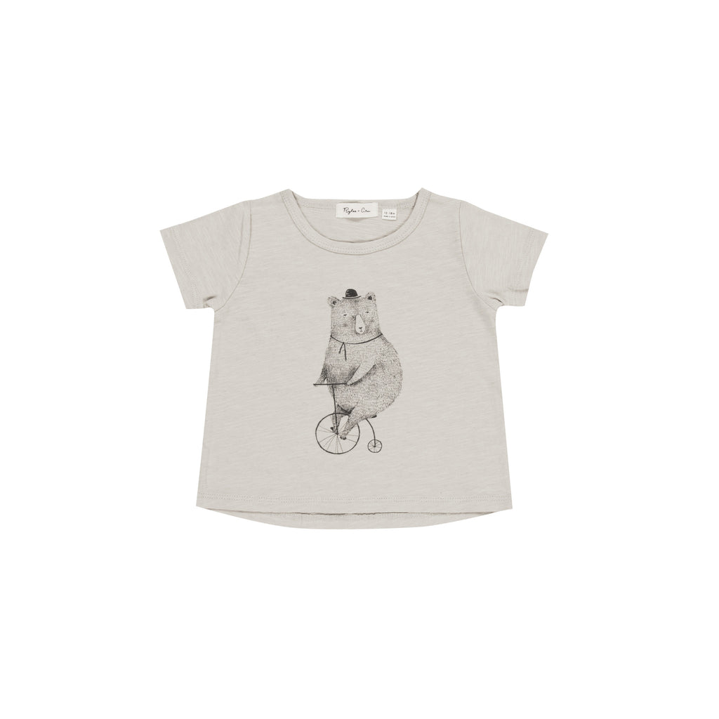 Cycling Bear Basic Tee