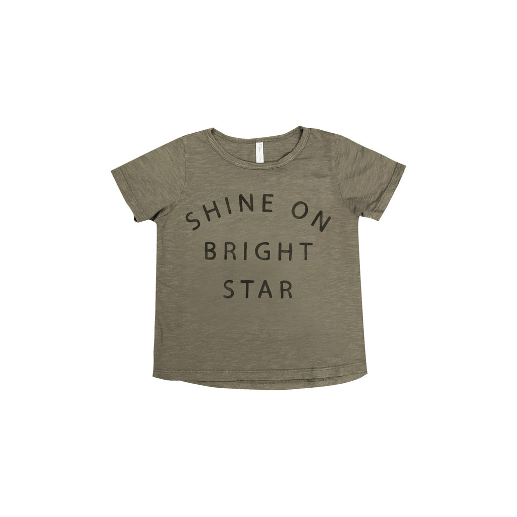 """Shine On"" Slogan Tee"