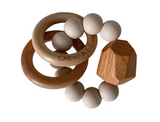 Chewable Charm Hayes Silicone + Wood Teether Toy