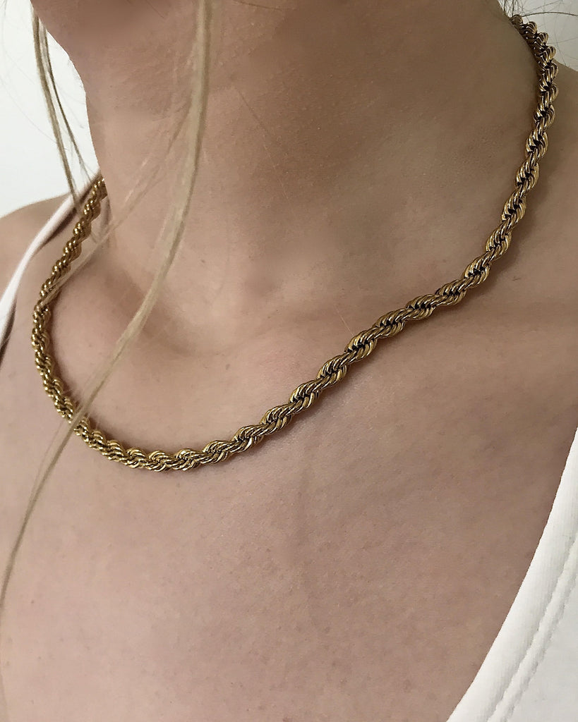 Helix XL Chain in Gold
