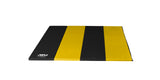 4x8 Black and Yellow Panel Mat