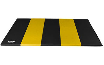 5x10 Black & Yellow Folding Mat - AAI Cheer