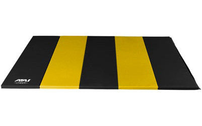 Black & Yellow Folding Mat - AAI Cheer