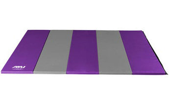 Purple & Grey Folding Mat - AAI Cheer