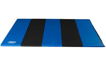 5x10 Royal & Black Folding Mat - AAI Cheer