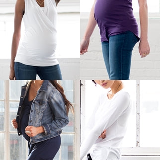 Dressing while Pregnant -Lesson #1: Separates