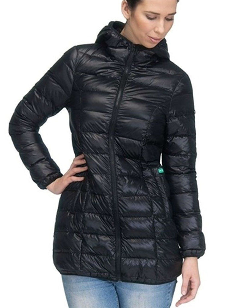 Ashley 3 in 1 Puffer Jacket Tops modern eternity Black S