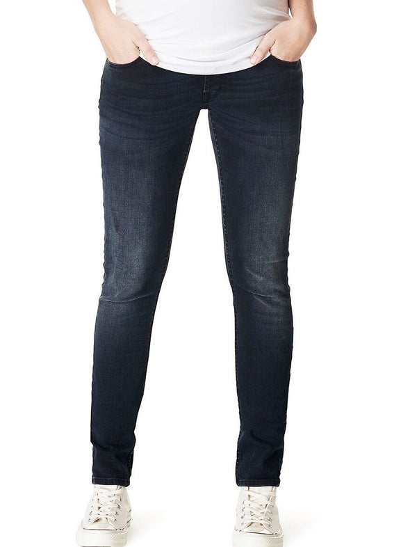 dark wash maternity jeans
