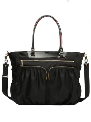 Large Abbey Tote- Black