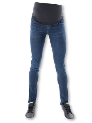 Over the bump maternity skinny jeans