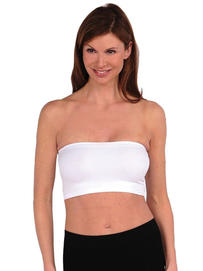 Layering Bandeau Intimates Tees by Tina one size white