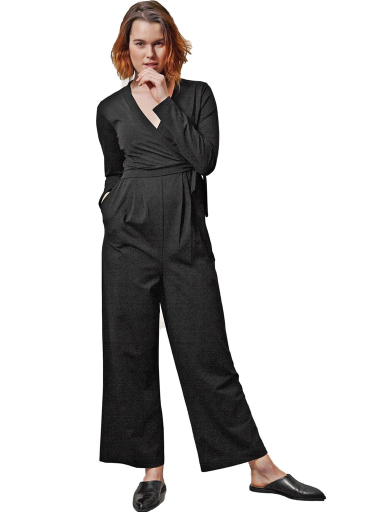 Amelia 2 Jumpsuit (Nursing) Dresses Boob Design XS black