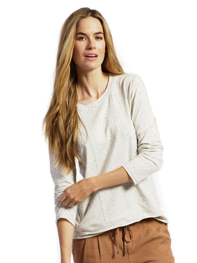 cream nursing maternity sweater