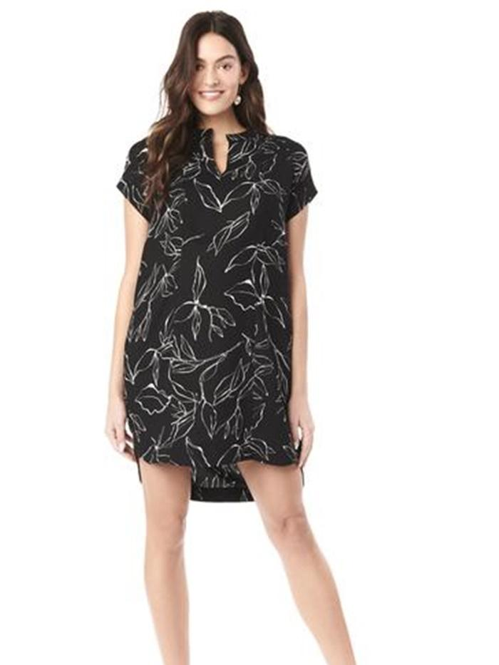 cybelle nursing dress with hidden zipper access