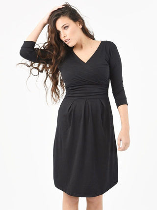 Dorit Nursing Dress-Black