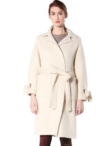 Pippa Coat Tops mom fave S Ivory