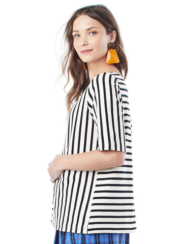 Ginger Stripe Top Tops Loyal Hana