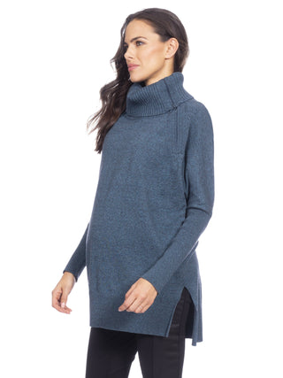 Haven Rollneck Tunic- Teal