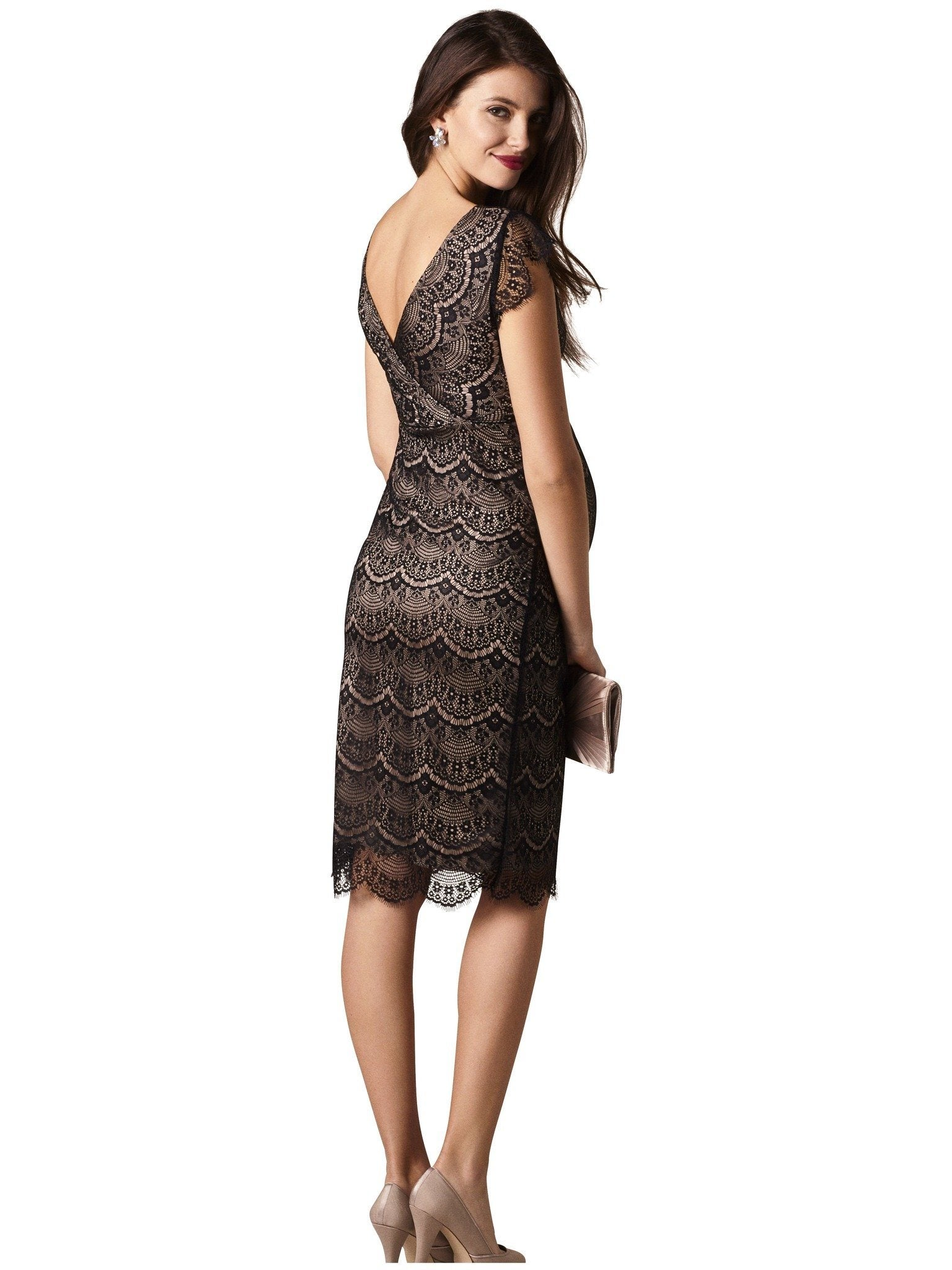 Imogen lace dress moms the word black lace maternity nursing dress ombrellifo Image collections