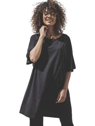 Ilse Nursing Dress- Black