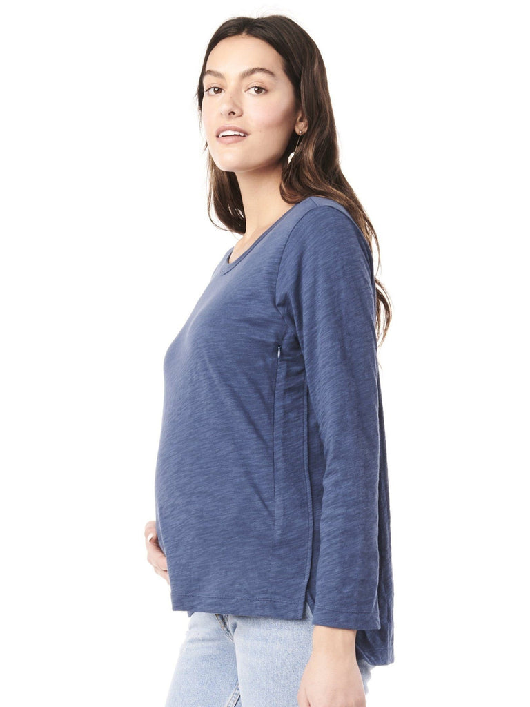 Kendal Nursing Sweatshirt Tops Loyal Hana XS Indigo