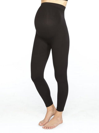 black maternity spanx leggings