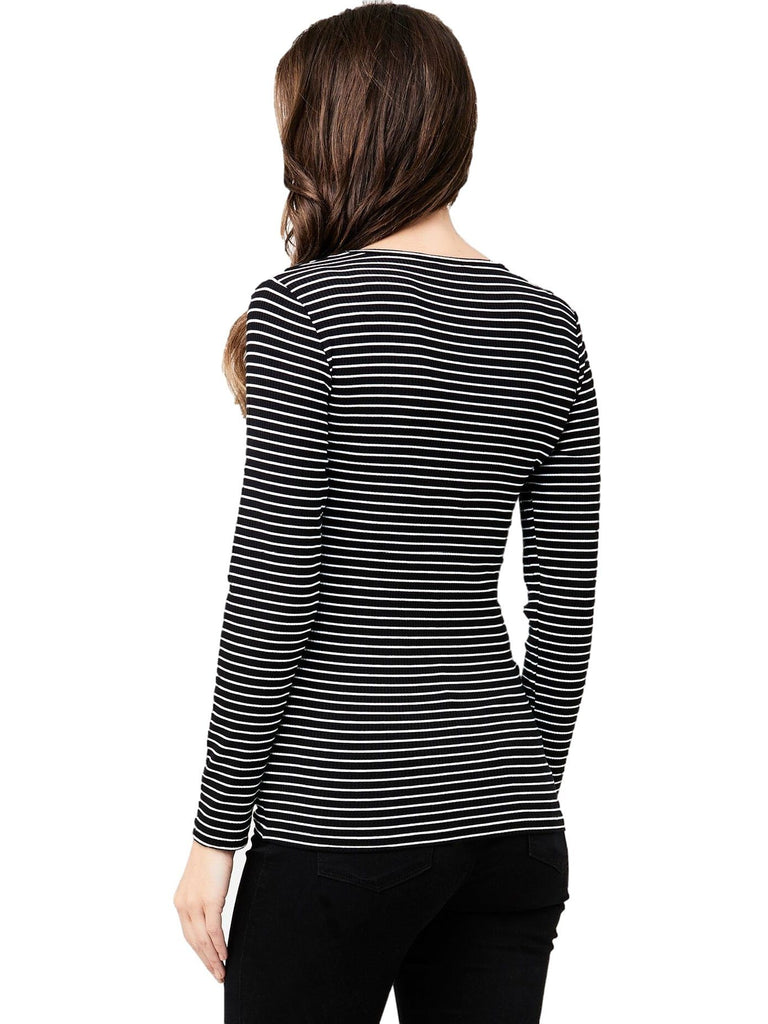Soft Stretchy Stripe Tee
