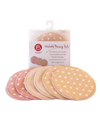 washable reusable nursing pads