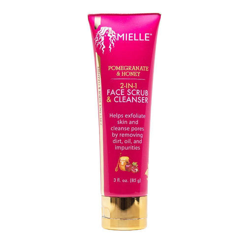 Pomegranate & Honey 2-in-1 Face Scrub & Cleanser