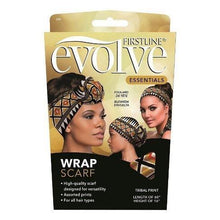 Load image into Gallery viewer, Evolve Satin Wrap Scarf