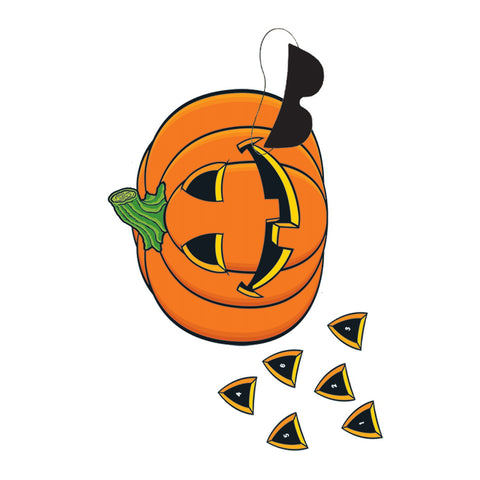 GAME - PIN THE NOSE ON THE PUMPKIN