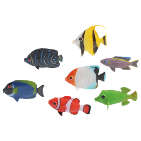 FISH - TROPICAL MINI ASSORTED 12 CT/PKG