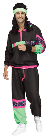 ADULT TRACK SUIT 80'S COSTUME