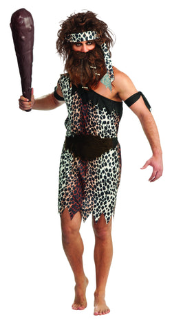 COSTUME - CAVEMAN                     ADULT