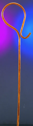 SHEPHERD'S CROOK - WOOD 5' TALL