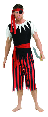 COSTUME - PIRATE MAN ADULT