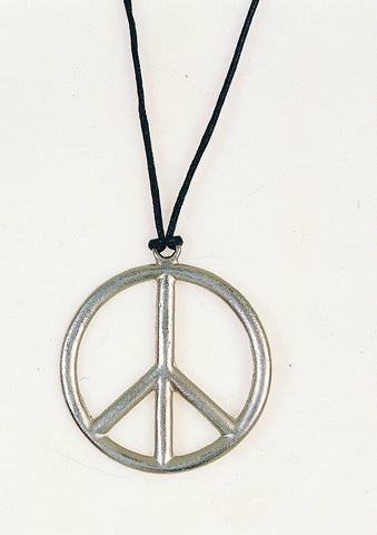 METAL PEACE PENDANT 1PC/PKG